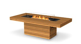 Gin 90 (Dining) Fire Pit Table - Studio Image by EcoSmart Fire