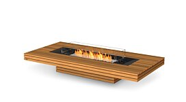 Gin 90 (Low) Fire Pit Table - Studio Image by EcoSmart Fire