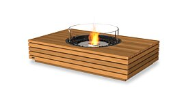 Martini 50 Fire Pit Table - Studio Image by EcoSmart Fire