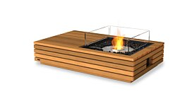 Manhattan 50 Fire Pit Table - Studio Image by EcoSmart Fire
