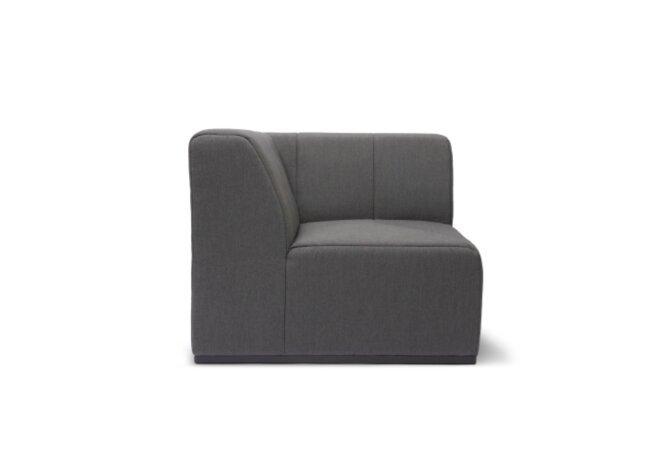 Connect C37 Modular Sofa - Flanelle by Blinde Design