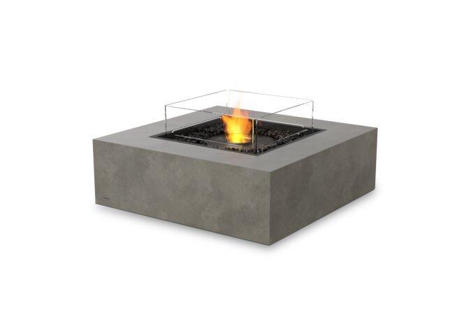 Base 40 Fire Pit - Ethanol - Black / Natural / Optional Fire Screen by EcoSmart Fire