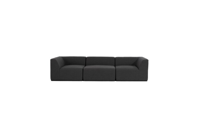 Relax Modular 3 Sofa Modular Sofa - Sooty by Blinde Design
