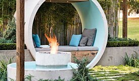Fireplace design flexibility