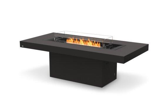 Gin 90 (Dining) Range - Ethanol - Black / Graphite / Optional Fire Screen by EcoSmart Fire