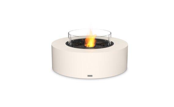 Ark 40 Fire Pit - Ethanol - Black / Bone / Optional Fire Screen by EcoSmart Fire